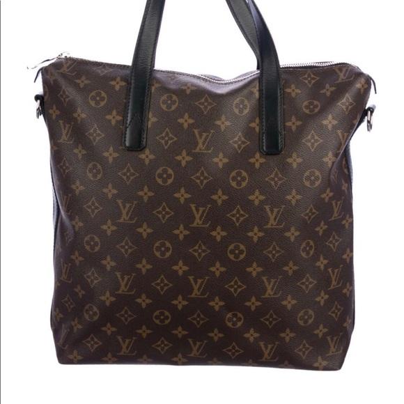 Louis Vuitton Handbags - Louis Vuitton Macassar Kitan Tote Like New!